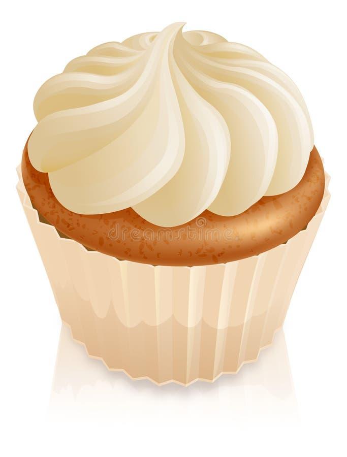 蛋糕杯形蛋糕神仙 皇族释放例证