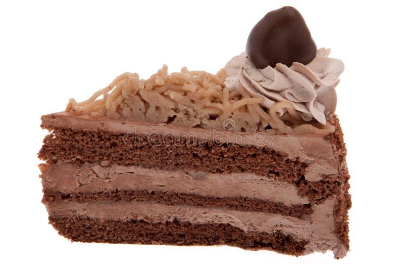 蛋糕栗子甜点 免版税图库摄影