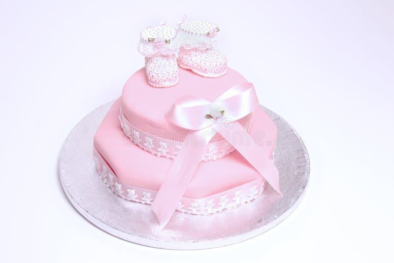 蛋糕洗礼仪式 免版税图库摄影