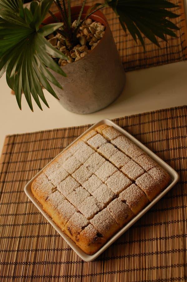 蛋糕海绵 免版税库存图片