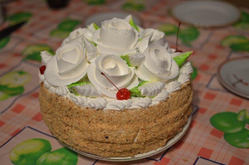 蛋糕的照片 库存图片