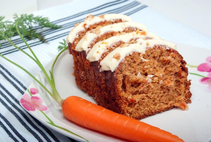蛋糕红萝卜 免版税图库摄影