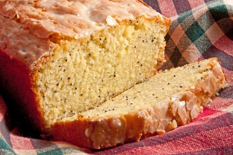 蛋糕罂粟种子 库存图片