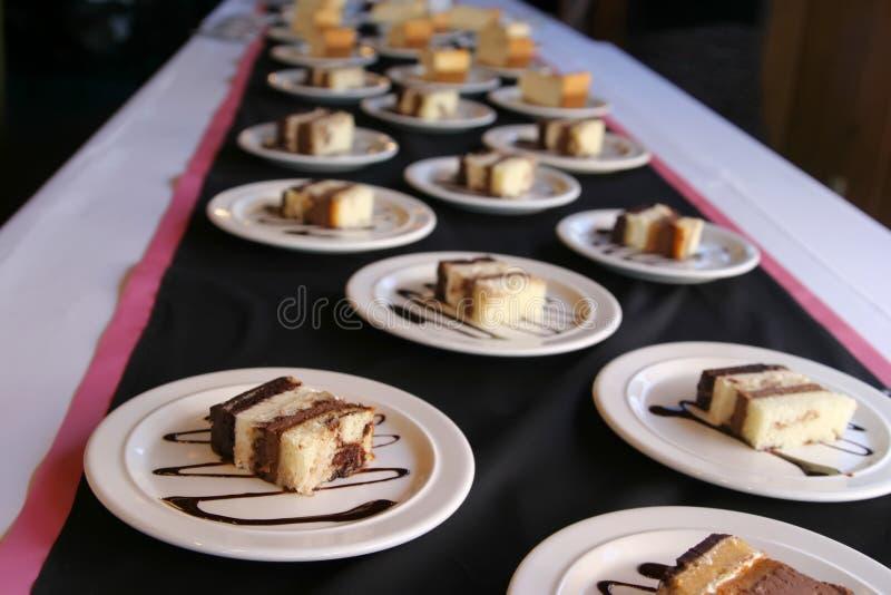 蛋糕获得了 库存照片