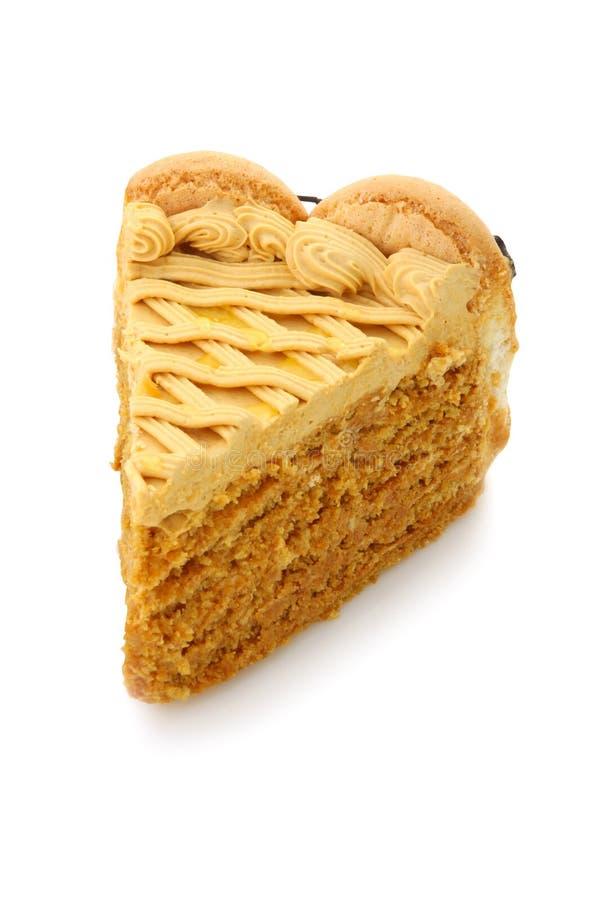 蛋糕蜂蜜 免版税库存图片