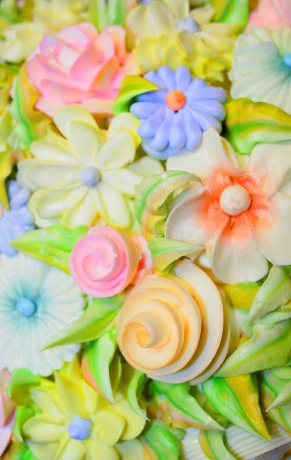 蛋糕设计结霜 图库摄影