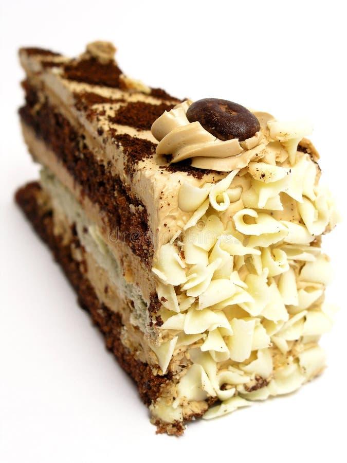 蛋糕部分 图库摄影