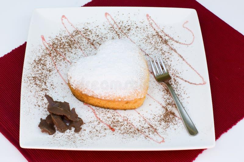 蛋糕重点 库存图片