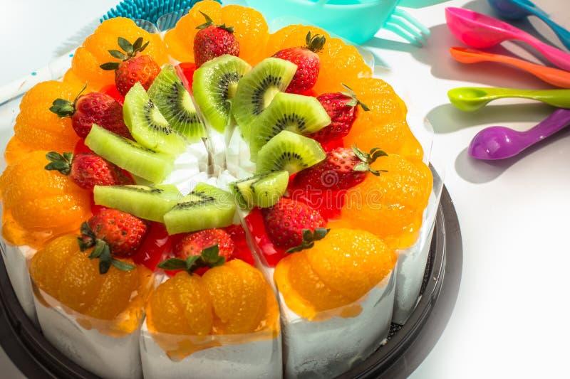 蛋糕面包店 免版税库存图片