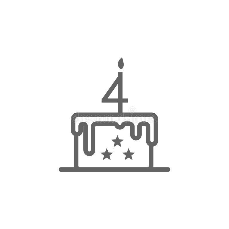 蛋糕,7月4日象 r : 优质象 库存例证