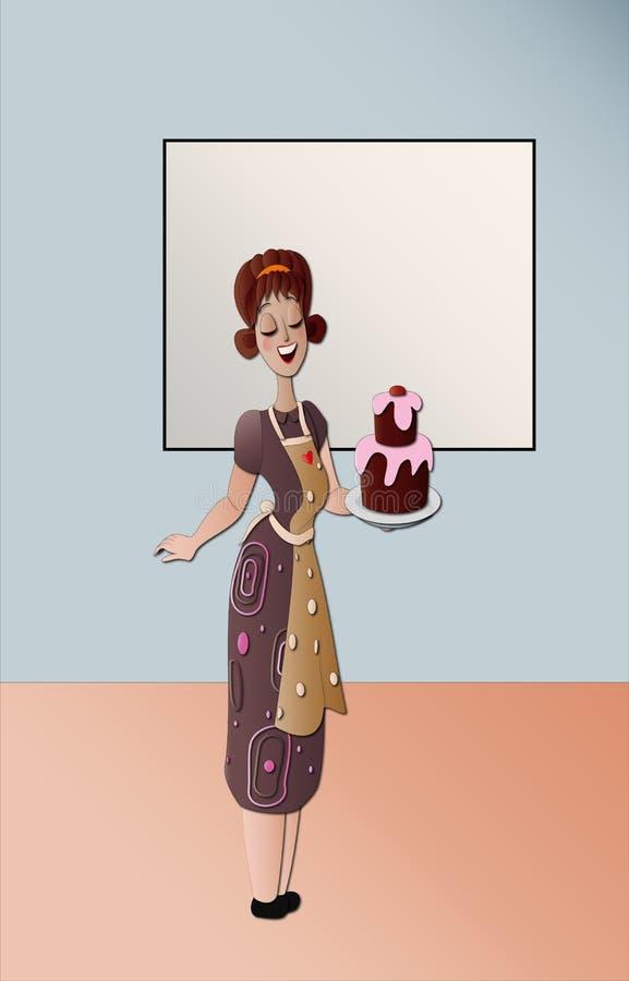 蛋糕designer2 库存照片
