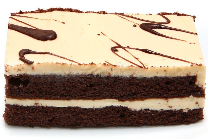 蛋糕latte 库存图片