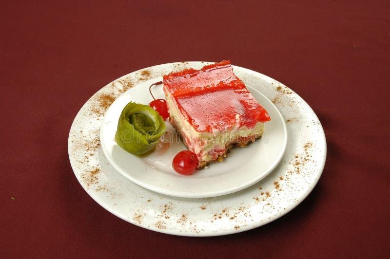 蛋糕leches tres 免版税图库摄影
