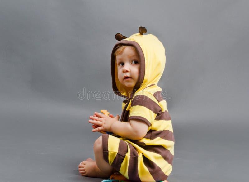 蜂孩子 库存照片