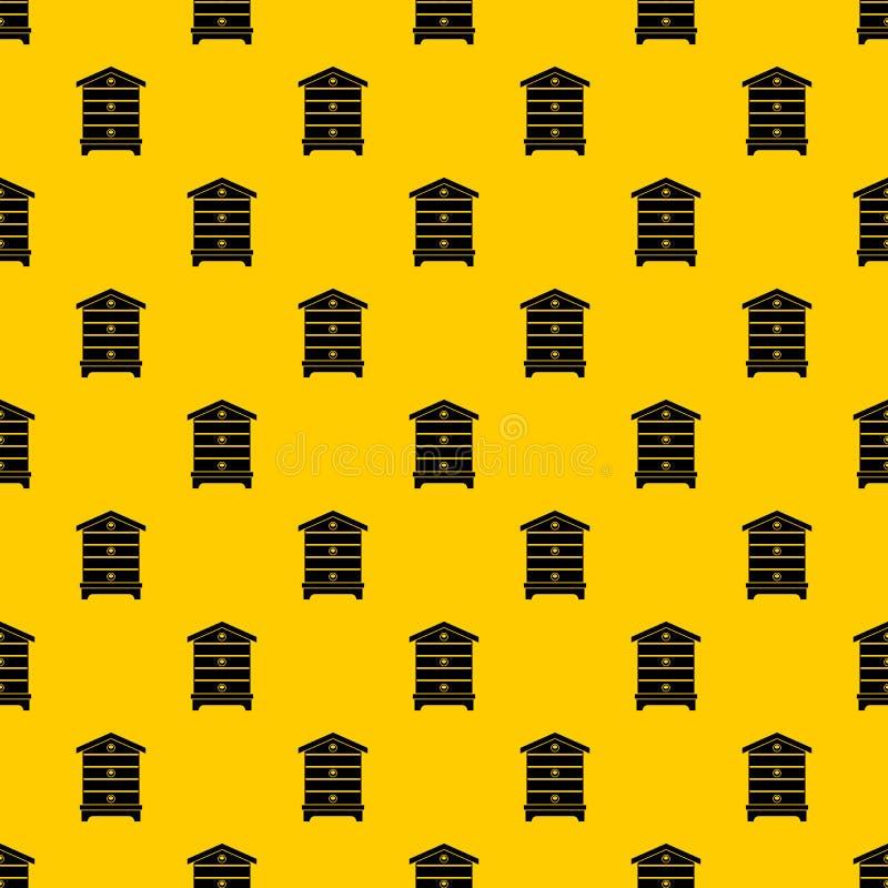 蜂房样式传染媒介 皇族释放例证