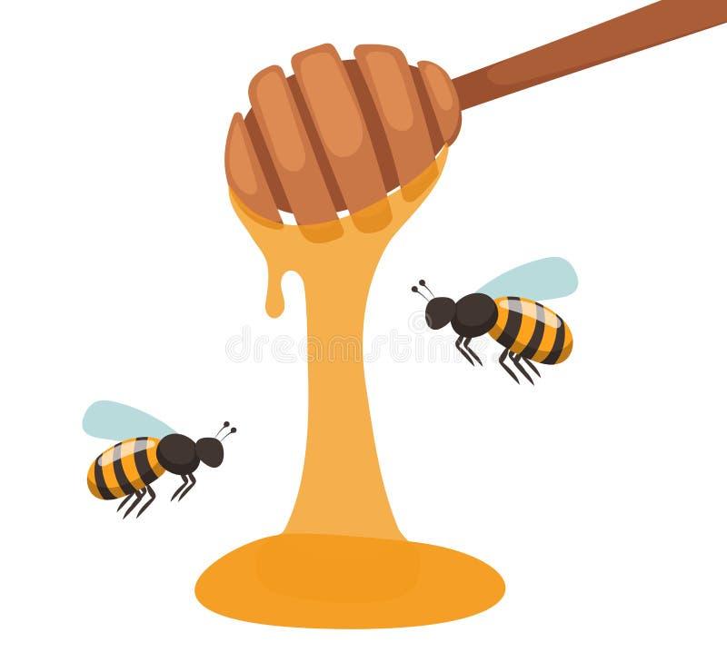 蜂房蜂农传染媒介例证 皇族释放例证
