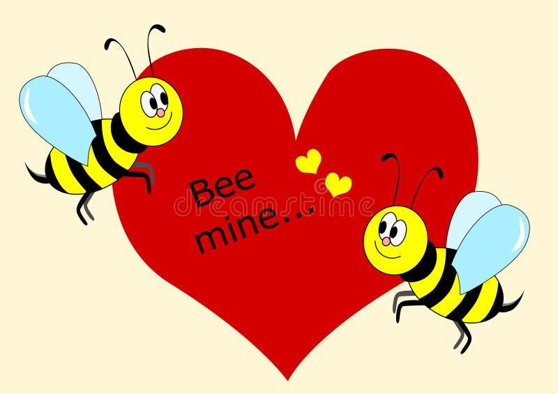 蜂最小值 免版税库存图片
