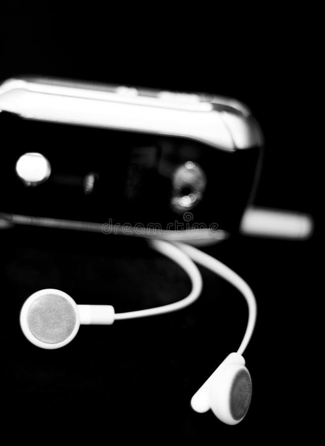 蜂窝电话耳机 图库摄影