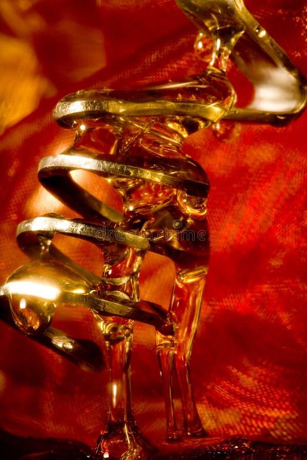 蜂蜜匙子 免版税图库摄影