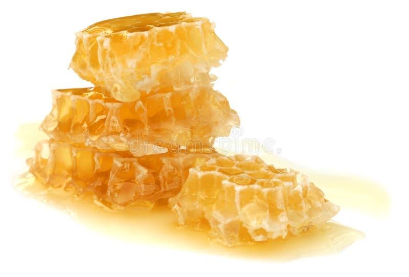 蜂蜜梳子 免版税库存照片