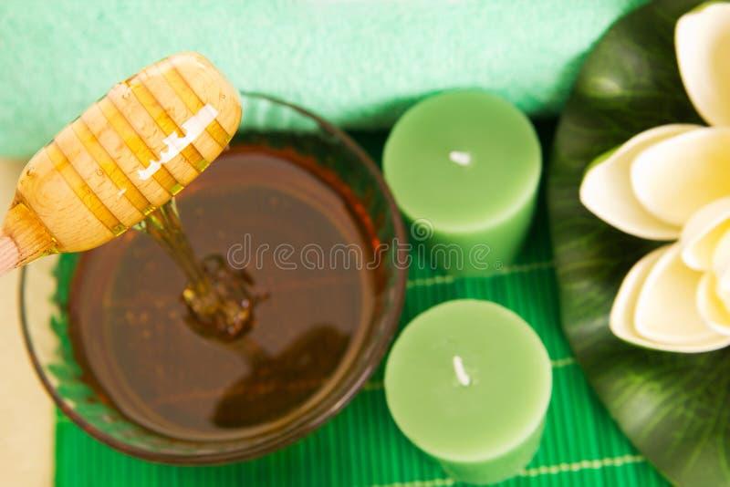 蜂蜜温泉 库存图片