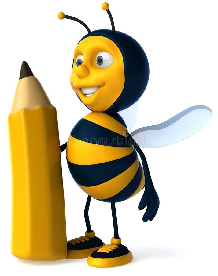 蜂蜡笔 向量例证