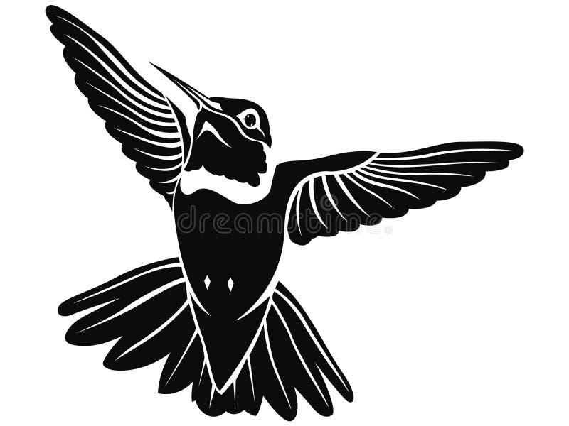 蜂鸟 皇族释放例证