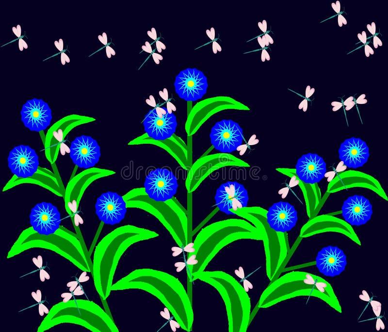 蜻蜓舞蹈传染媒介 库存照片
