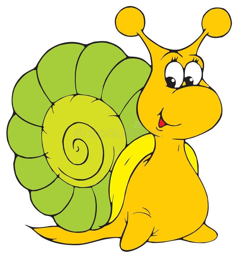 蜗牛(向量夹子艺术) 皇族释放例证