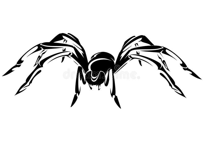 蜘蛛 向量例证