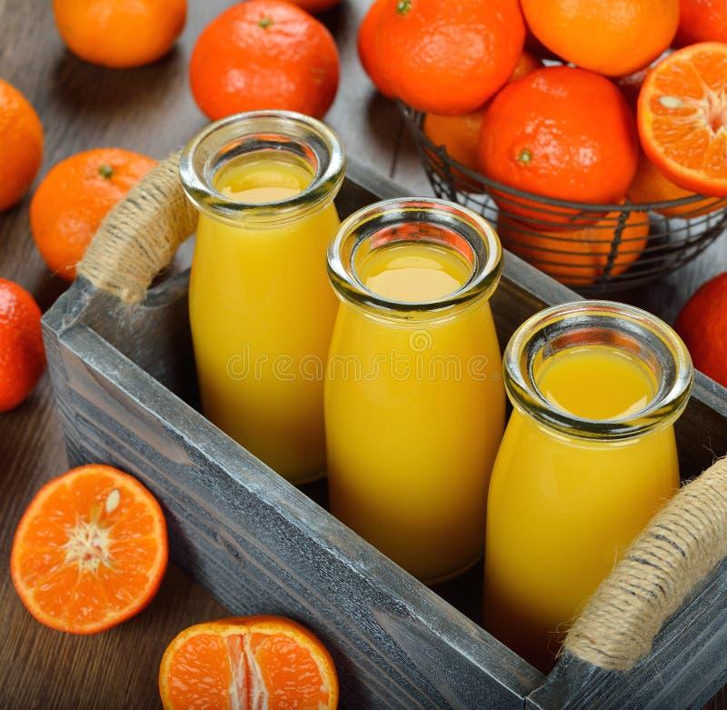 蜜桔汁 免版税库存图片