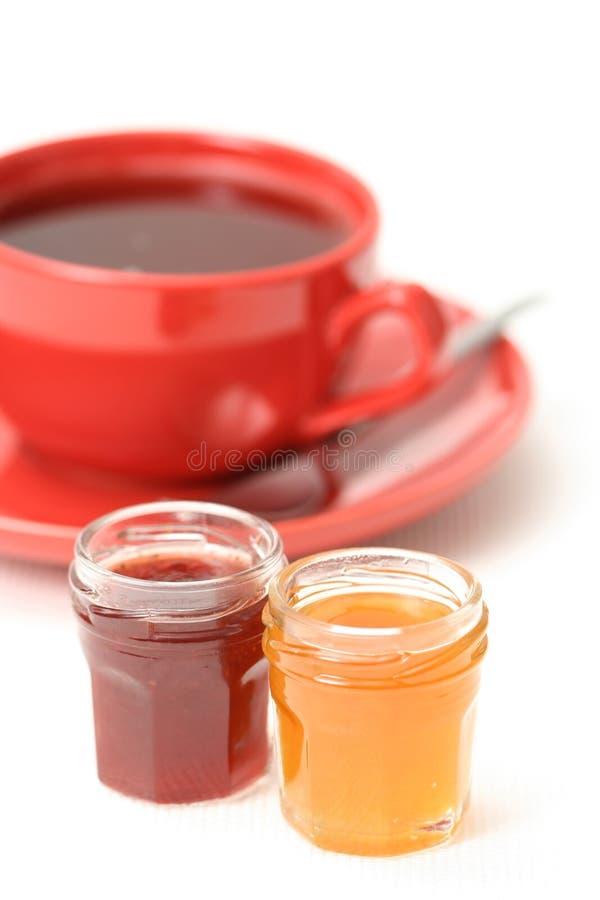 蜜饯杯子茶 库存图片