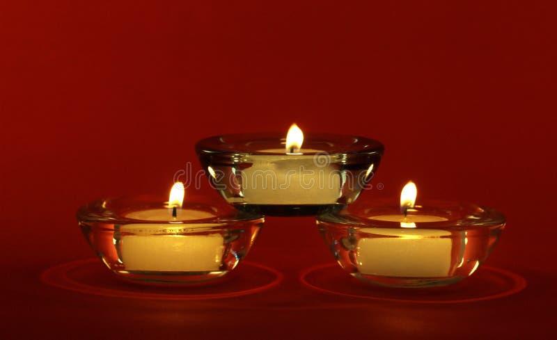 蜡烛三 免版税图库摄影