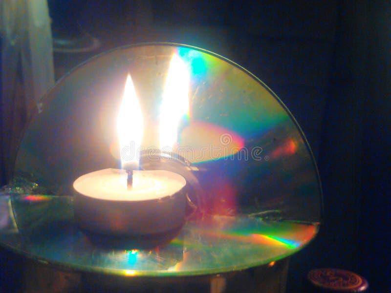 蜡烛台 库存照片