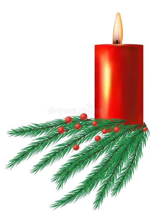 蜡烛圣诞节 库存图片