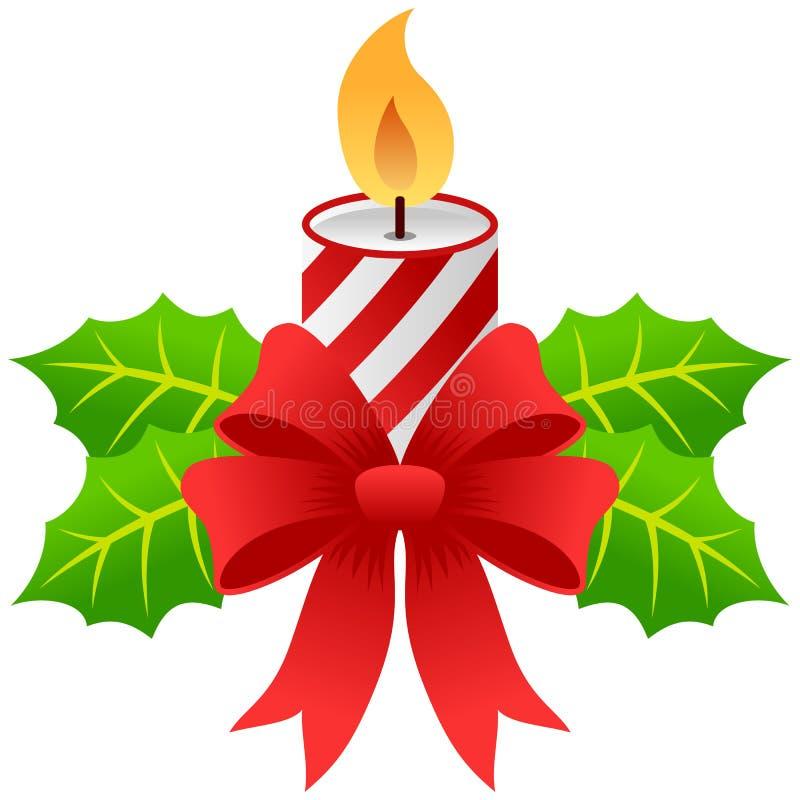 蜡烛圣诞节 向量例证