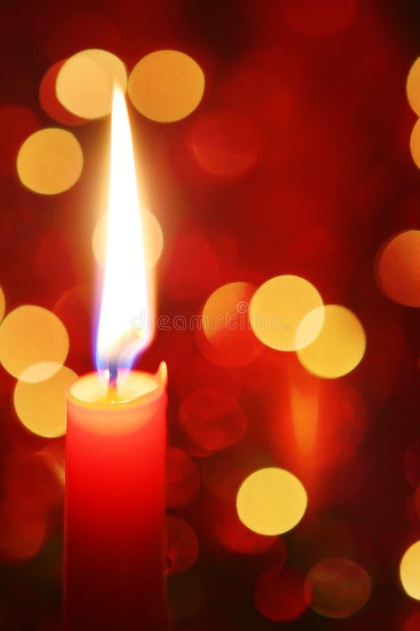蜡烛圣诞节 免版税图库摄影