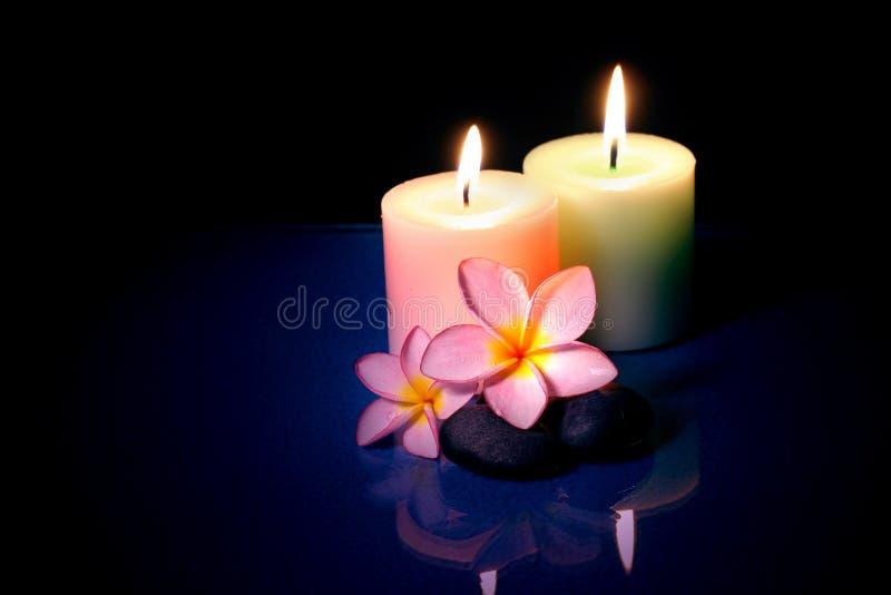 蜡烛夫妇frangipane 库存图片
