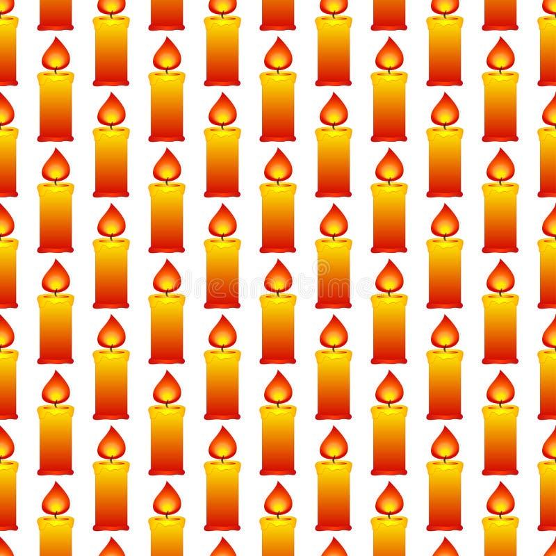 蜡烛样式 向量例证
