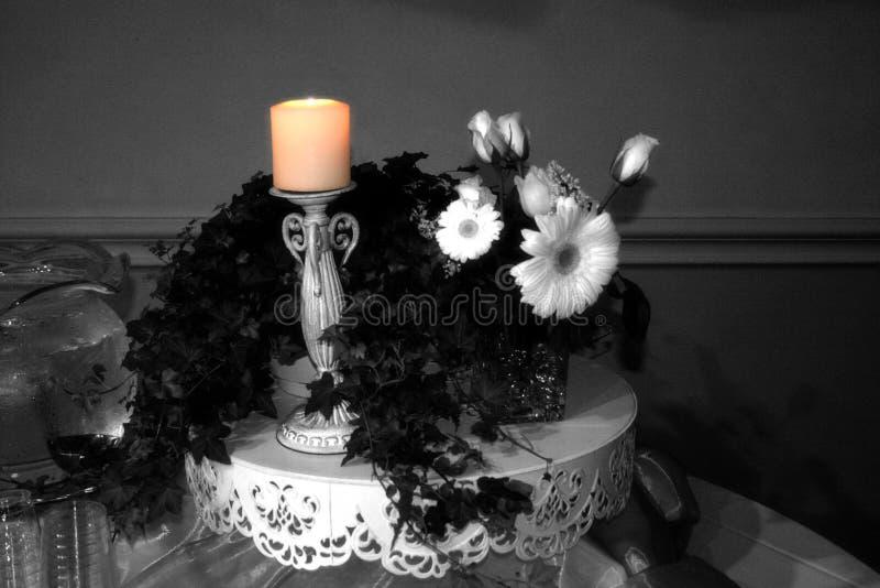 蜡烛焕发 库存图片
