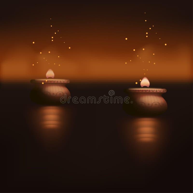蜡烛的图片 库存例证