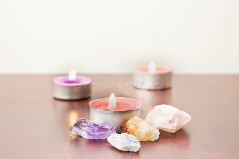 蜡烛石头 库存图片