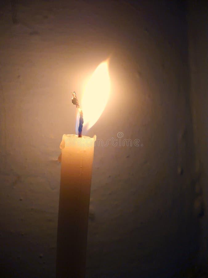 蜡烛秀丽  免版税图库摄影