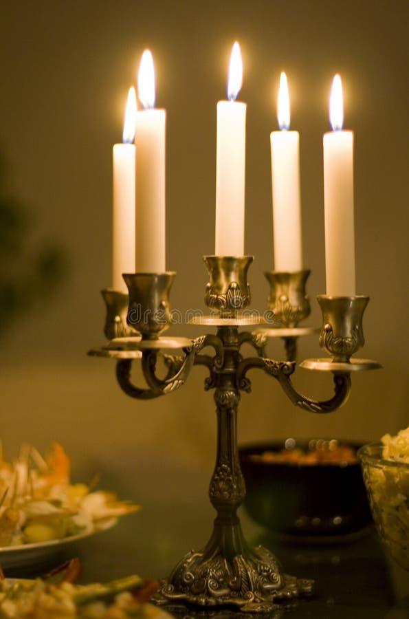 蜡烛表 库存照片