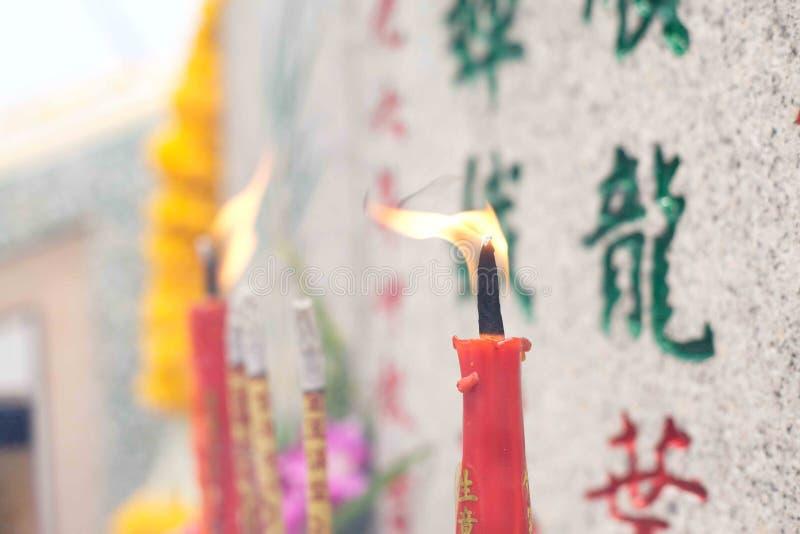 蜡烛被点燃的薪水尊敬 免版税库存图片