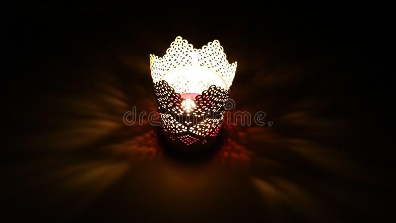 蜡烛魔术 免版税库存图片