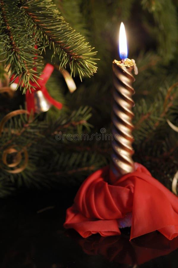 蜡烛chrismas 库存图片