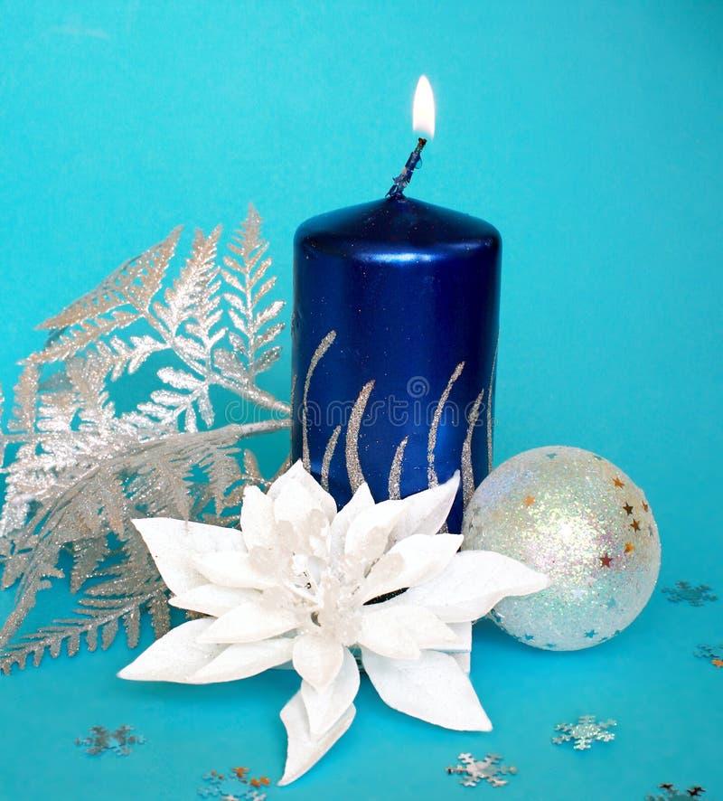 蜡烛cristmas 免版税库存照片