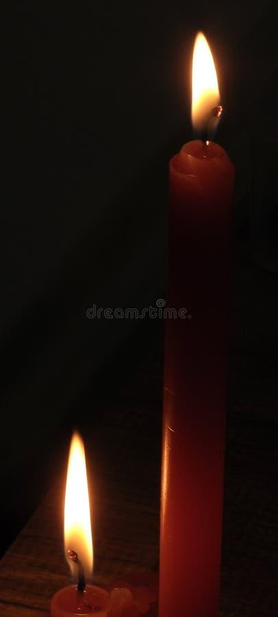 蜡烛ii 免版税库存图片