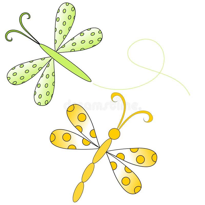 蜻蜓例证 皇族释放例证